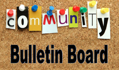 BKAT Community Bulletin Board